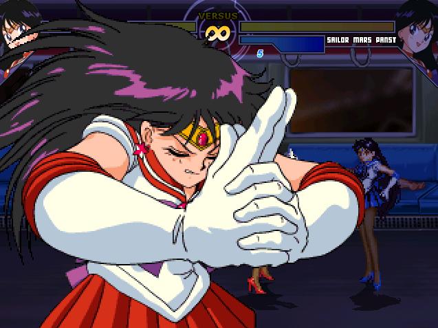 Sailor Mars Pants2 | Hentai Char Mugen HCM
